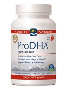Nordic Naturals Pro DHA Strawberry Softgels, DHA Supplement - 90 Ea