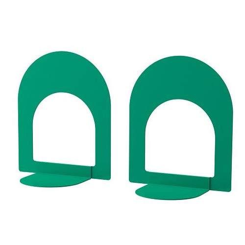 BOTTNA IKEA Buchstützen in Leuchtend grün; 2 Stück - Zwei Buchstützen