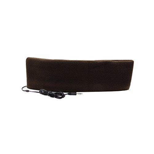 örer mit Stirnband, ultradünne Ohrhörer, besonders bequem, geeignet zum Einschlafen, für Flugreisen, die Arbeit, Sport oder bei Schlafproblemen coffee ()