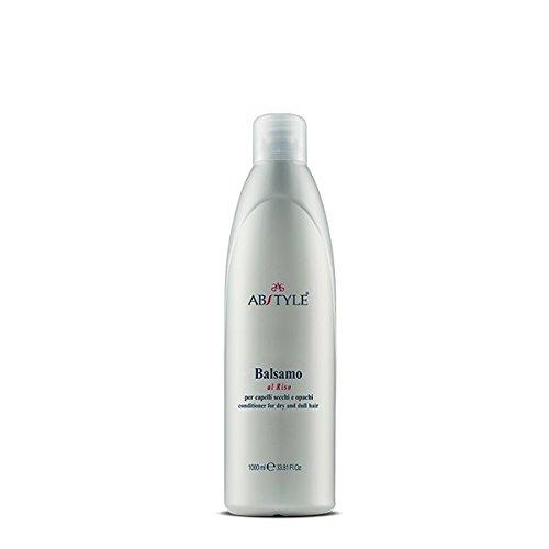 AB Style | Baume au riz professionnel pour cheveux secs et opaques, anti-vieillissement (1000 ml)