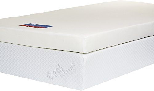 Memory Foam Mattress Topper with Cover, 4 inch - UK Super King 2