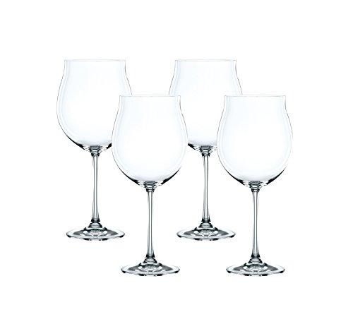 Spiegelau & Nachtmann, 4-teiliges Burgunder-Pokal Set, Kristallglas, 897 ml, Vivendi, 0085693-0