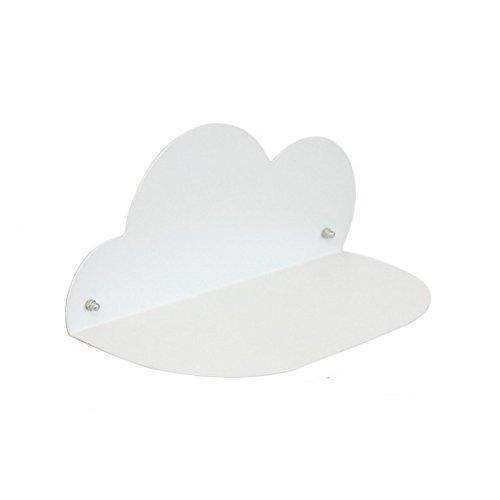 Margueras 1pcs libreria per bambini nuvola/libreria in forma di nuvola in ferro