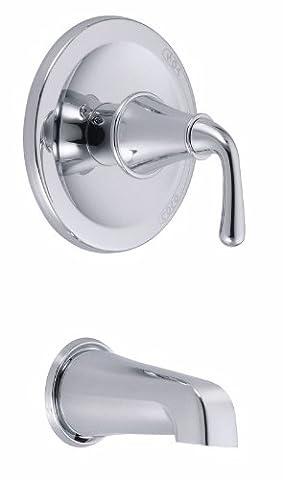 Danze D500656T Bannockburn Tub Trim Kit, Chrome, Valve Not Included by Danze