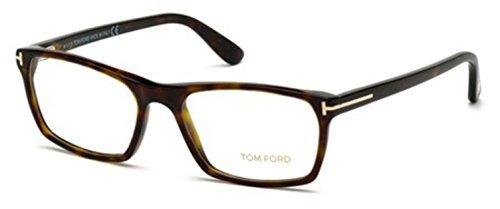 Tom Ford Für Mann 5295 Dark Tortoise Kunststoffgestell Brillen, 56mm