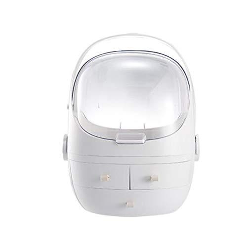 LTLWL Kosmetiktasche Damen Abnehmbare Großvolumige Aufbewahrungsbox Für Lippenstiftschmuck Regenfest Staubdicht Kosmetische Aufbewahrungsbox (Anpassbare Uhren-box)