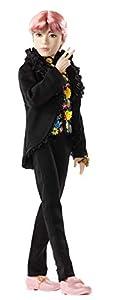 BTS Muñeco Deluxe V, figura de colección premium, miembro banda coreana (Mattel GKD01)