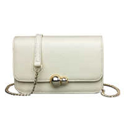 WU Zhi Lady In Pelle Messenger Singolo Pacchetto Borsa A Tracolla Beige