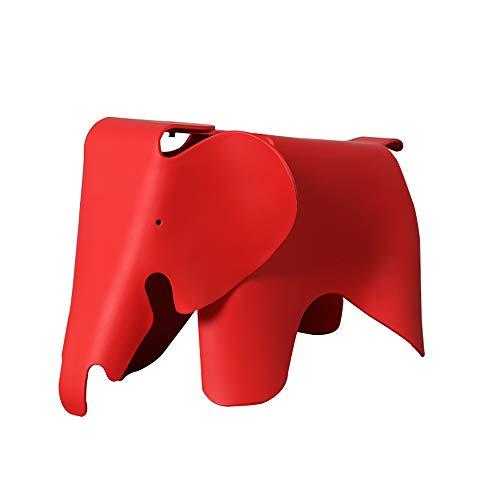 Funlea Nordic Cartoon Elefante Forma Sofá Taburete Animal Creativo Taburete de los niños Asiento Macaron Taburete bajo Precioso Plástico Cambio de Banco de Zapatos Para Niños Amigos Regalo, Muebles de