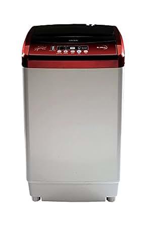 Onida 6 kg Fully-Automatic Top Loading Washing Machine (WO60TSPLNEMO, Lava Red)