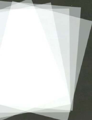 A2 Mylar hojas diseño de Star Wars con plantilla para estarcir (4 x A2) 125 Micras (aprox 420 mm x 594 mm)