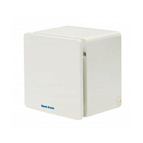 Vent Axia 409161Solo Pro HTP Zentrifugal Bad/WC Abluftventilator mit Hygrostat/Timer/Zugschnur 10,2cm/100mm