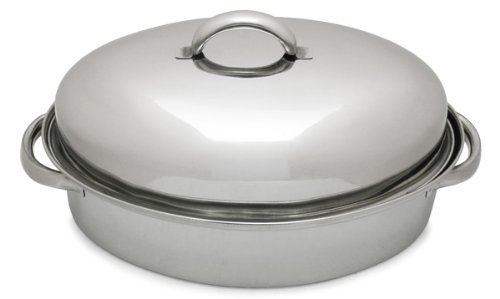 Lindy's 3-Qt Stainless Steel Chicken Roaster by Lindy's Stainless Steel Chicken Roaster