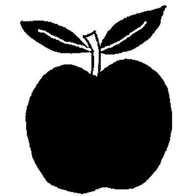 25-cm-apple-timbro-di-gomma-1571
