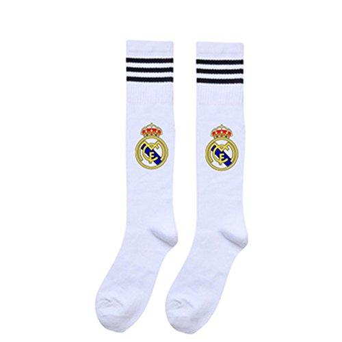 Yiwa - Calcetines deporte - niño White Real Madrid