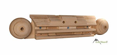Preisvergleich Produktbild Kraxlboard Xtreme- das wohl vielseitigste Holz Kletterboard am Markt