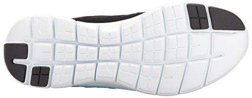 Skechers Flex Appeal 2.0-semplicistica Sneaker Da Donna Nero Nero (nero / Turchese)