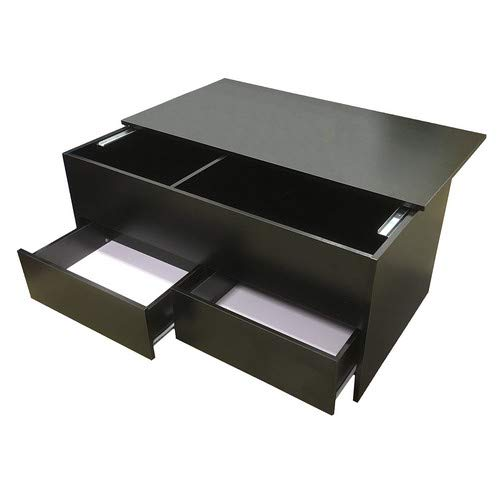 Redstone Coffee Table Slide Top With Storage Inside And 2 Drawers
