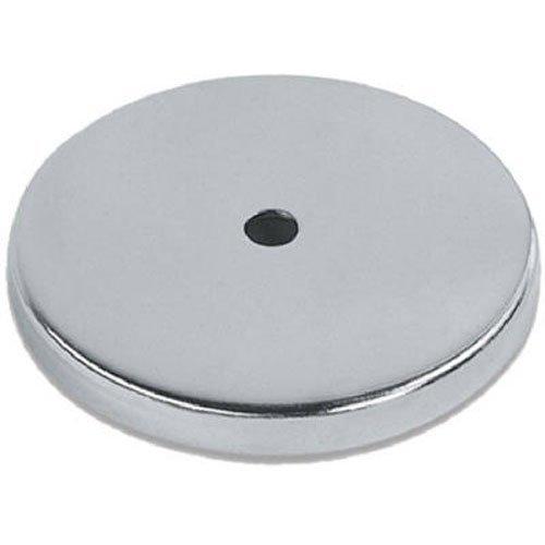 Rundmagnet 81 x 10 mm bis 43 kg Power Magnet rund super-stark verchromt