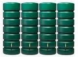 CLASSICO Gartentank-Set 2600 L, grün 4 x CLASSICO 650 L, inkl. Verbinder
