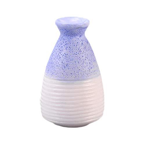 WDOIT Mini Blumenvase Harz Vase, Vasen für Blumen Pflanzen, für Das Wohnzimmer Zuhause Büro Party Dekor, 3.1 * 2.5cm