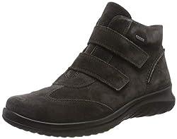 Legero Damen Softboot 4.0 Gore-Tex Sneaker, Grau (Lavagna (Dunkelgrau) 08), 39 EU