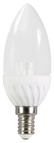 XQ-lite LED-Glühkerze E14, 4 W ersetzt 30 W, 320 lm, 200 Grad Abstrahlwinkel, warmweiß XQ13156