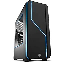 Nox Hummer MC Black - NXHUMMERMCB - Caja PC, Color Negro