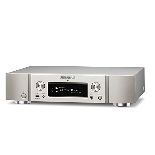 Marantz NA6005/N1SG Netzwerk-Audioplayer (WLAN, Bluetooth, Spotify, Airplay, Internetradio) silber-gold