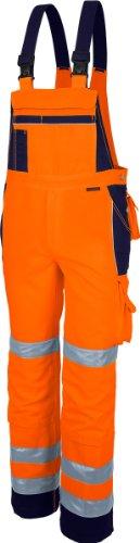 Qualitex Warnschutz-Latzhose Arbeits-Hose PRO MG 245 - mehrere Farben