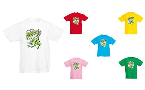 Brand88 - Daryl Dixon's Haunted Woods, Kids Printed T-Shirt
