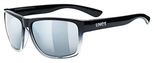 Uvex Erwachsene lgl 36 Sportbrille Black Clear, One Size