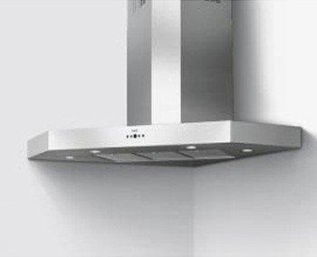 Best Como Hotte d'angle en acier inoxydable de 105cm