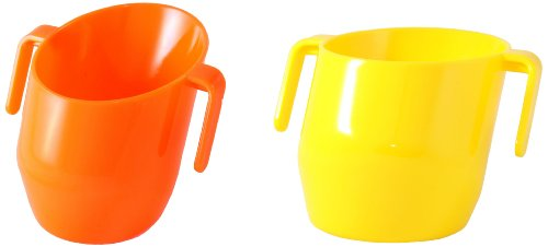Doidy Cup 10117 Spar-Doppelpack, gelb/orange