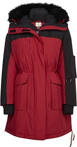 Tommy Hilfiger Damen Jacke mit Kapuze Tommy Icons Parka bleu (50) 40