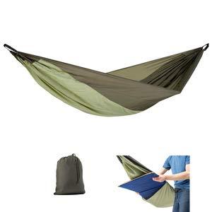 AMAZONAS Ultra-Light Hängematte Silk Traveller THERMO 450g 275cm x 140cm bis 200kg in Grün