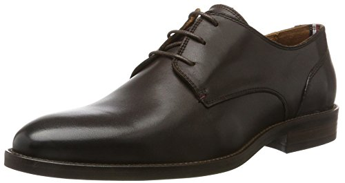 Tommy Hilfiger Essential Leather Lace Up Derby, Derby Homme
