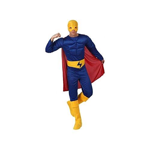 Muskelhelden-Kostüm blau (Kostüm Homme Bleu)