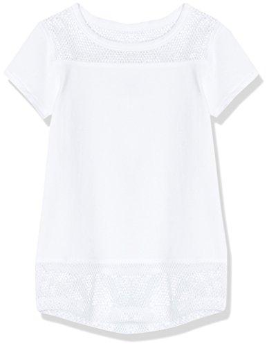 RED WAGON T-Shirt Mädchen, Weiß, 116 (Herstellergröße: 6 Jahre) (Nichts T-shirt Mädchen)