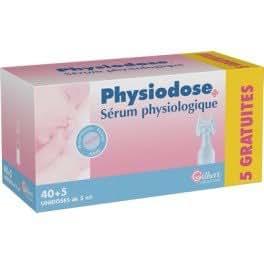 SERUM PHYSIOLOGIQUE LOT DE 3 X 40 DOSETTES