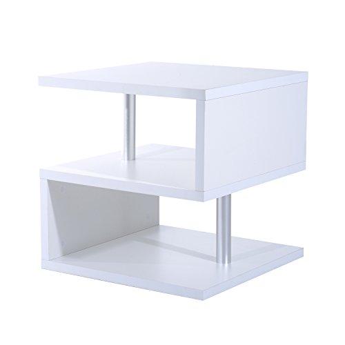 Alle Aluminium-wohnzimmer Tisch (Homcom® Couchtisch Beistelltisch Kaffeetisch Teetisch Wohnzimmertisch (Modell2))