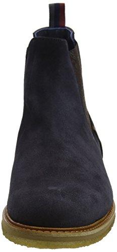 Ted Baker Bronzo, Stivali Chelsea Uomo Blu (Dark Blue)
