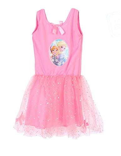 Disney Frozen-Kleid für Kleinkinder Faschingskostüm Mädchen rosa 98/104 (3-4 (Frozen Kostüm Kleinkind)