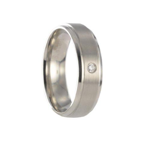 Edelstahl L316 Ring Partnerring Freundschaftsring Ehering X30120 Gr60