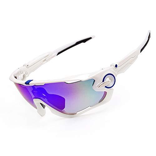 Fahrradbrille Transparent Reitbrillen 009270 Outdoor Sportbrillen Polarisierte Brillen Sonnenbrillen Style 2 Damen Herren