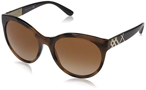 BURBERRY Damen 0Be4236 362313 56 Sonnenbrille, Braun Brown