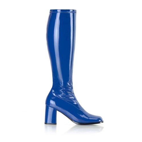 Higher-Heels, chaussures de verni pour homme laque marenebleu