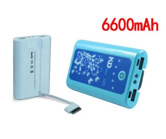 KD 6600 mAh Power Bank for Samsung, Micromaxx, Karbonn & HTC