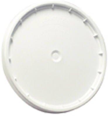 LEAKTITE - 5-Gallon White Plastic Pail Lid