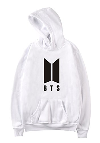 SIMYJOY Unisex Bangtan Boys Fans BTS Hoodie Kpop Cool Pullover Hip Pop Sweatshirt For Men Women Teen